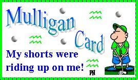 printable mulligan tickets mulligan golf make golf fun