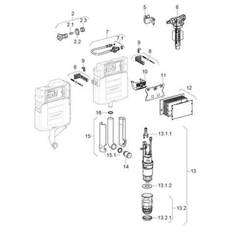 Inbouwtoilet Afmetingen Grohe by Geberit Duofix Up320 Inbouwreservoir H112 Cm Compleet 111