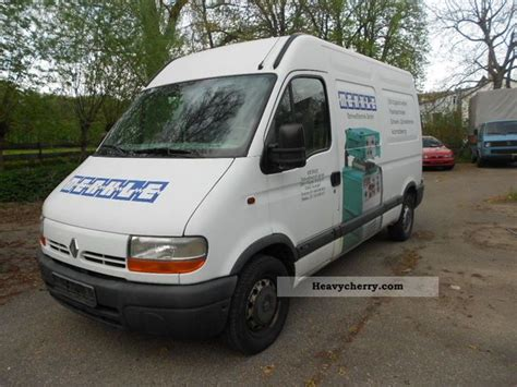 renault master 2001 renault master 2001 box type delivery van high and long