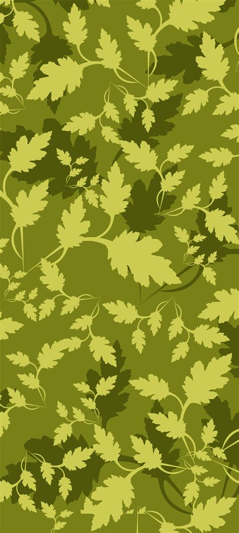 Leaf Pattern Camouflage | leaves camouflage pattern