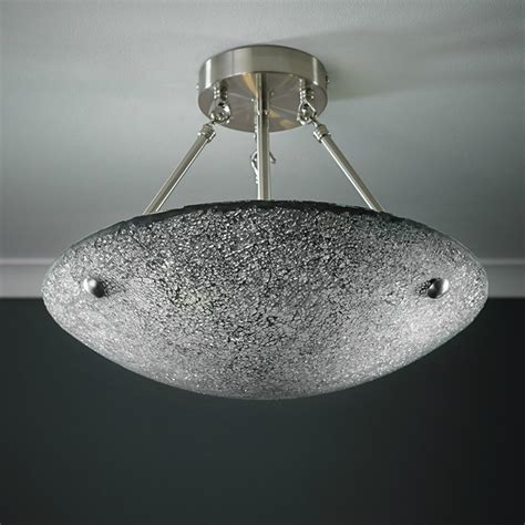 Endon Ceiling Lights Endon Lighting Marconi Marconi 3ch Chrome Semi Flush Ceiling Light
