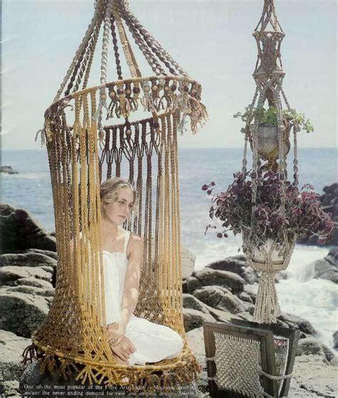macrame swing chair pattern macrame birdcage chair bikini butterfly shawl patterns
