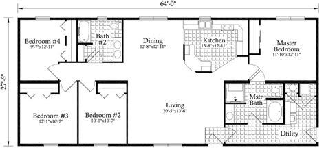roosevelt floor plan roosevelt 1760 square foot ranch floor plan