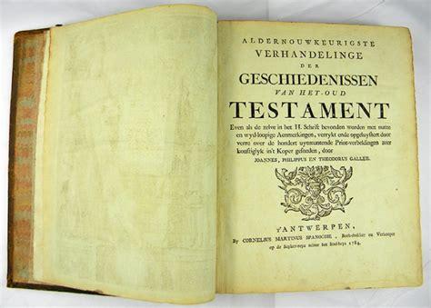 wann wurde das alte testament geschrieben niederl 228 ndische bibel 1784 antiquariat und kunsthandel