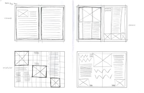 layout grid sketch july 2014 diaryofcmmstudent