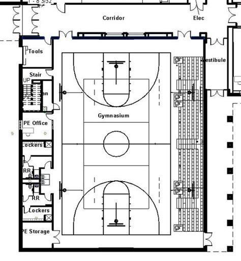 gymnasium floor plans elementary school building design plans protsman
