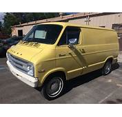 1976 DODGE TRADESMAN B100 Custom Van For Sale Photos
