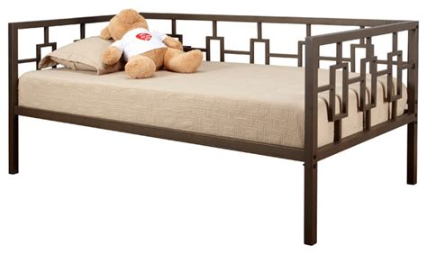 brown metal bed frame brown metal size day bed daybed frame with metal
