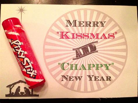 merry kissmas and chappy new year crafts for