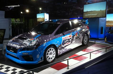 wrc subaru 2015 2015 subaru wrx sti rally car shown at new york show