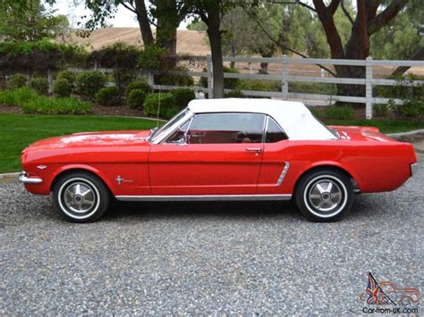 1964 5 mustang value 1964 5 ford mustang convertible