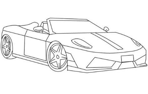 imagenes para dibujar un carro dibujo de autos tuning para colorear en tu tiempo libre