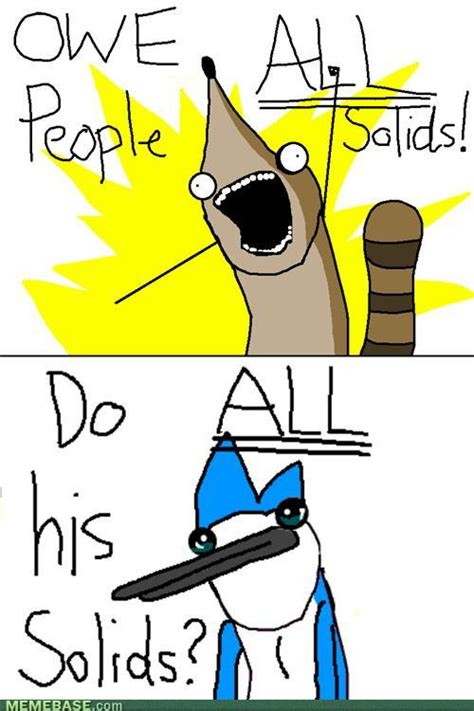 All Internet Memes - image 218906 regular show know your meme