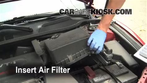 2011 Toyota Camry Filter Location Air Filter How To 2007 2011 Toyota Camry 2008 Toyota