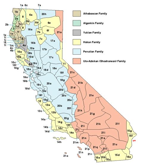 california american tribes map californiaprehistory california indian tribes
