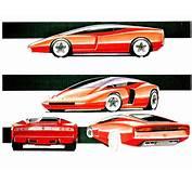 1989 Ferrari Mythos Pininfarina  Studios