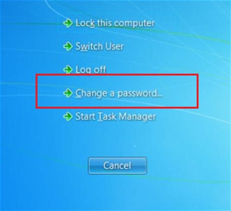 how to reset windows 7 password without reset disk usb cd how to change your windows 7 password nuangel net