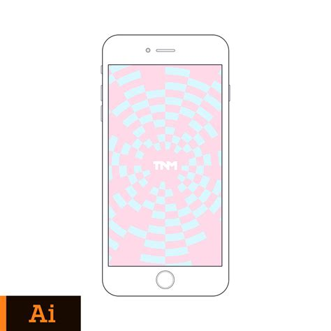 adobe illustrator iphone template vector mockup illustrator template for apple iphone 6 plus