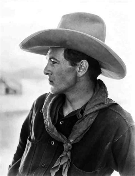 film cowboy hollywood photo of gary cooper wearing a cowboy hat cowboys