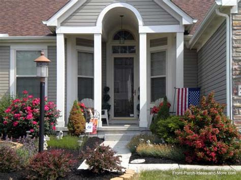 lewis center ohio front yard landscaping front porch