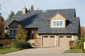 Garage Roof Designs residental house garage small garden black sloping roof home design