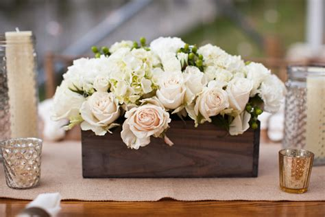 wood boxes for centerpieces save