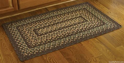 woodbine rectangle braided rug 27 x 45