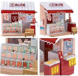 dollhouse butcher shop papercraft papercraft paradise