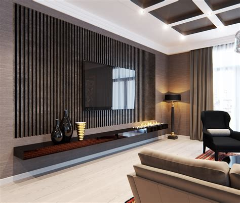 tv wall design cool wall treatments interior design ideas