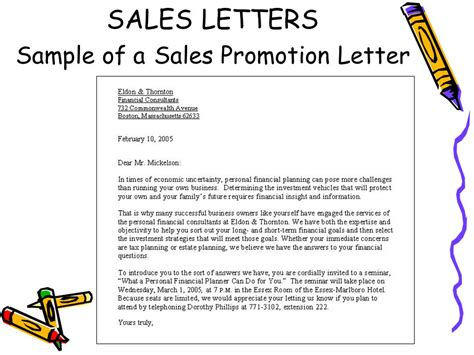 Sales And Relations Letters Ppt