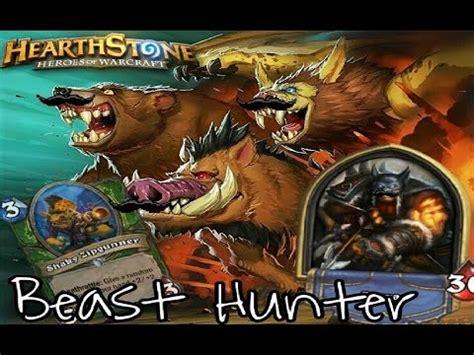 Hearthstone Beast Deck by Hearthstone Best Agro Beast Deck Standard 2017