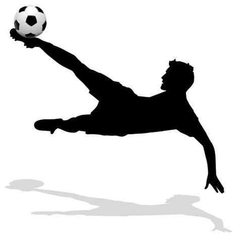 Sports Player Outline by Outline Soccer
