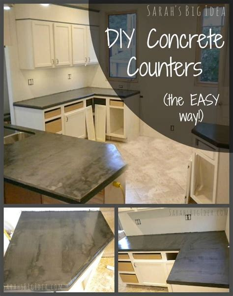 Concrete Countertops Diy Kit by Updated Experiences On About How Concrete Diy