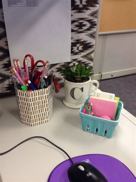 cute desk accessories for work cubicle decor desk accessories for the home pinterest