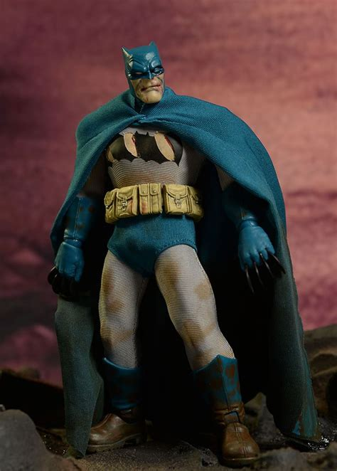 Figure Batman Set 4 mezco batman mutant leader dkr figure set figures batman and