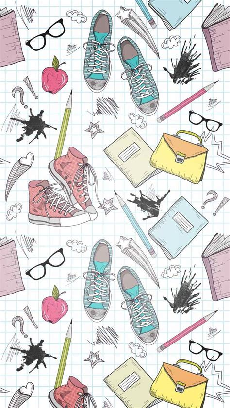 seamless pattern   daily necessities