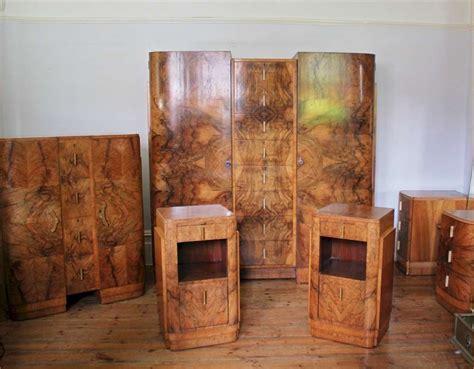Deco Bedroom Ls by Wonderful Deco Bedroom Suite In Figured Burr Walnut
