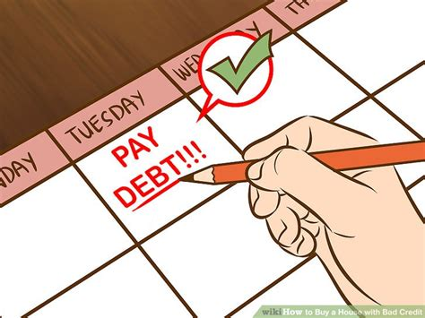 how buy a house with bad credit 3 ways to buy a house with bad credit wikihow