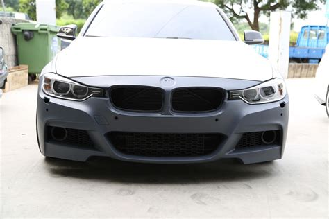 M Sport Style Front Bumper for 2012  BMW 3 Series [F30