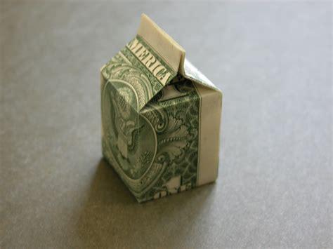Dollar Box Origami - origami dollar box comot
