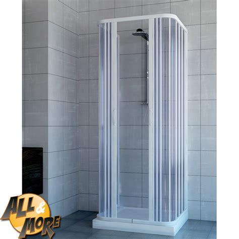 box doccia 70x90x70 all more it box cabina doccia tre lati in pvc con