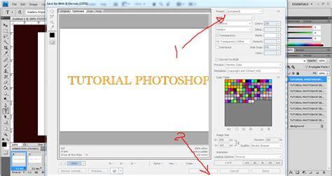 tutorial photoshop  membuat dp bbm berkedip