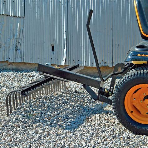 Landscape Rake For Lawn Tractor Craftsman 48 In Landscape Rake Mower Tractor