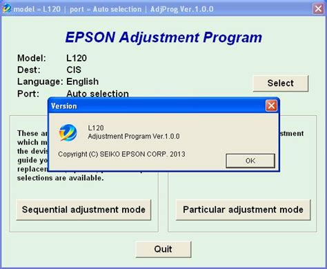 epson l120 l220 l310 l311 adjustment program resetter rar pass epson l120 adjustment program resetter