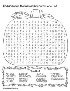 fall wordsearch preschool busy bags boxes fall