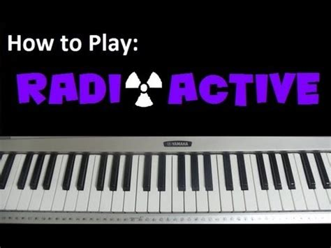 tutorial guitar radioactive how to play quot radioactive quot by imagine dragons piano