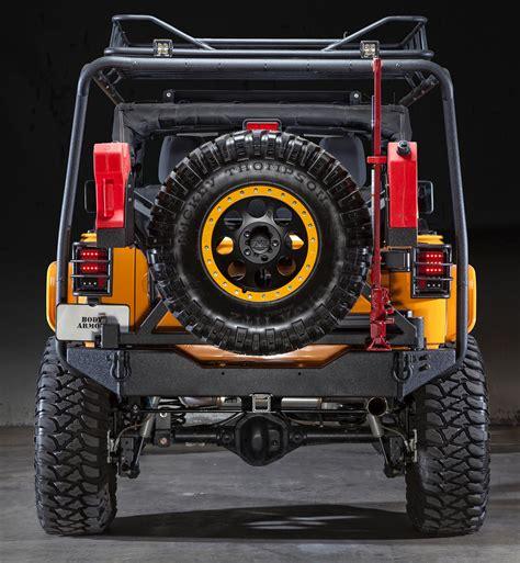 jeep body armor bumper body armor 4x4 jk 2395 black steel rear bumper with