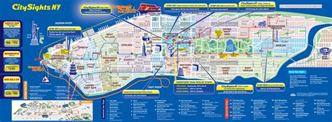 map to new york city maps update 30001102 new york city tourist map map of