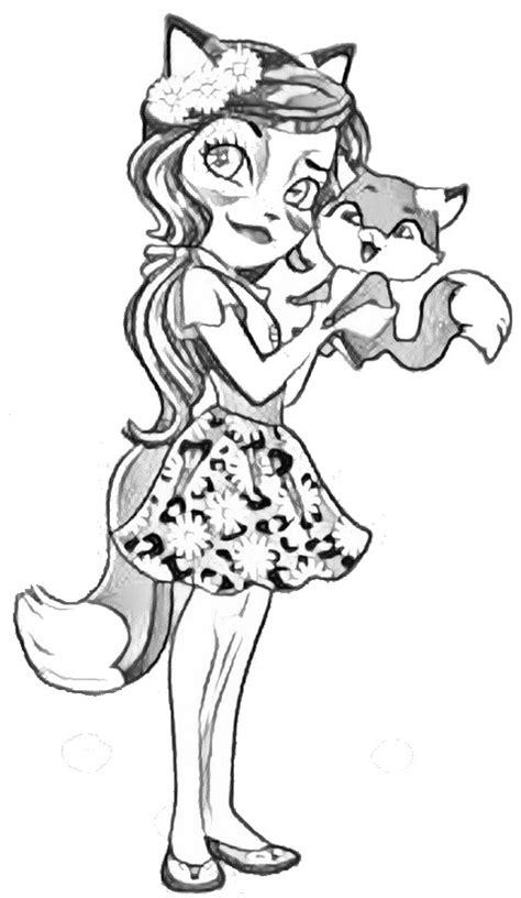 Www Coloring Page Dibujo Para Colorear Enchantimals 1
