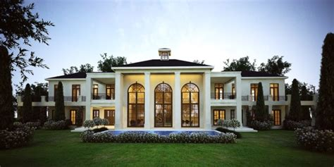 Unique Houseplans by Polo Lodge French Style Architecture Modern South